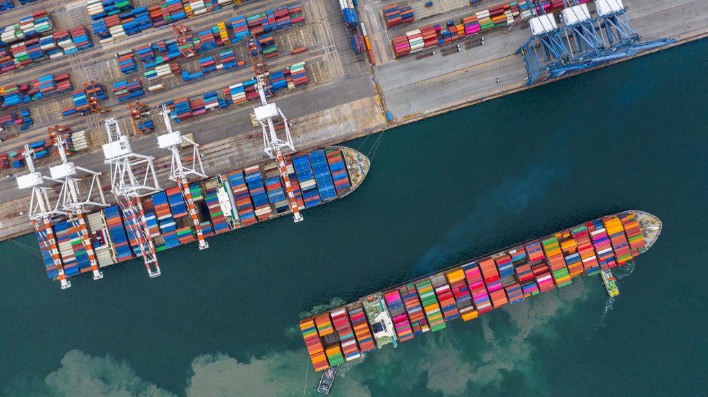 crescimento das exportações